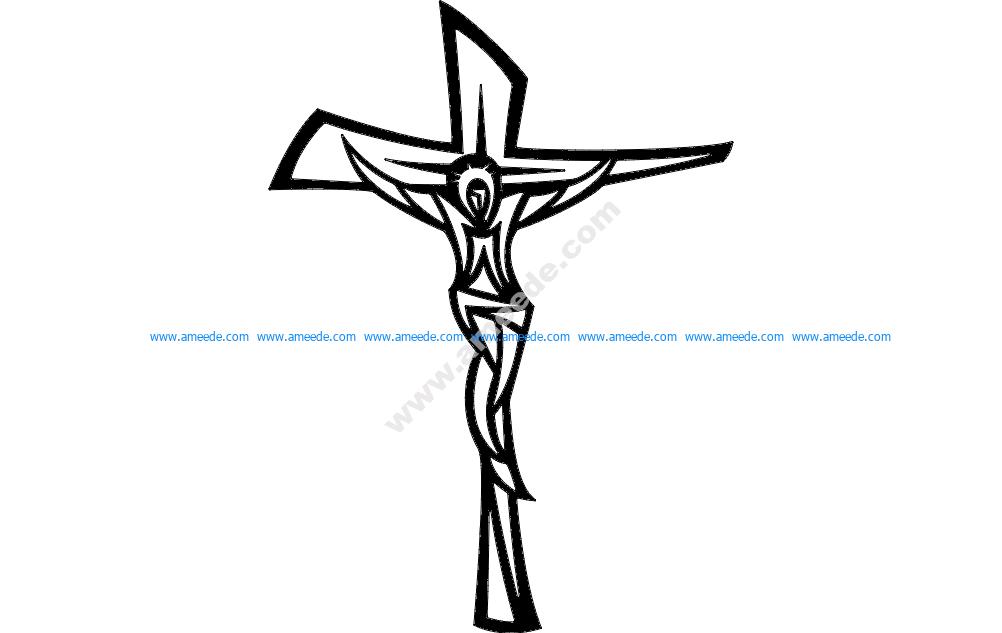 Jesus Cross Modern