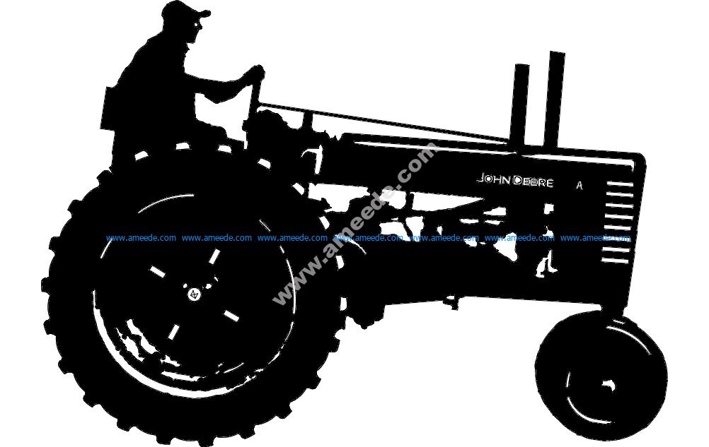 John Deere-1 Tractor