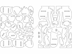 Koala 3D Puzzle
