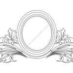 Mirror Frame Floral