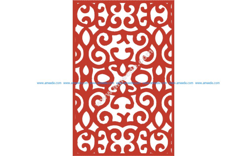 Ornamental Panel 4