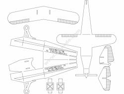 Plane Puzzle 0p5mm