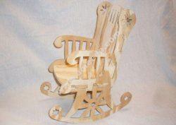Rocking Chair Cnc Project 1-8 Inch Bit