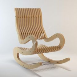 Rocking Chair Plywood 15 mm