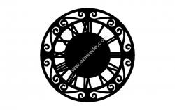 Roman Numerall Clock