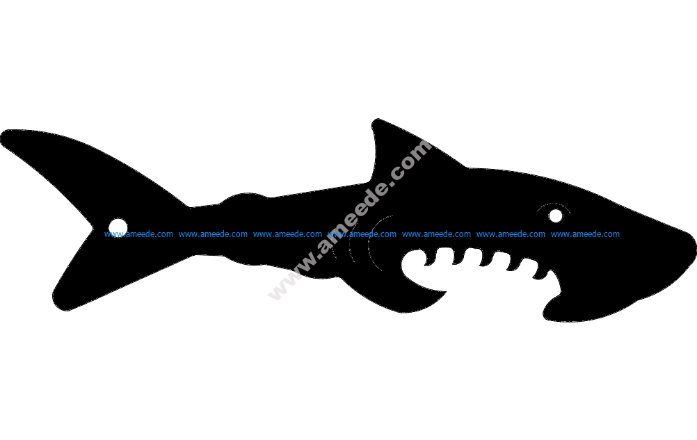 Shark Silhouette Vector