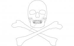 Silhouette Skull