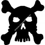 Skull Silhouette Vector