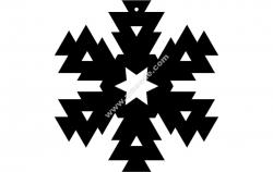 Snowflake Design 6