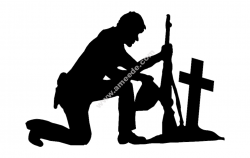 Soldier With Cross