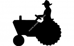Tractor Silhouette 2