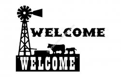 Windmill Welcome Scenery