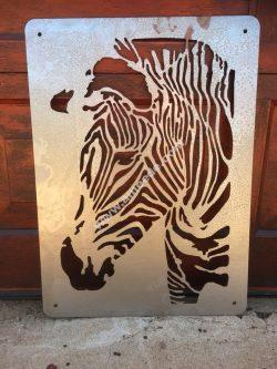 Zebra Laser Cut