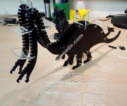 Hypeosaure Lasercut Model x2