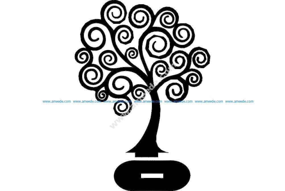 Tree 3d puzzle