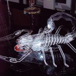 Acrylic Scorpion 3D puzzle