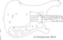 Rickenbacker Series 400 body