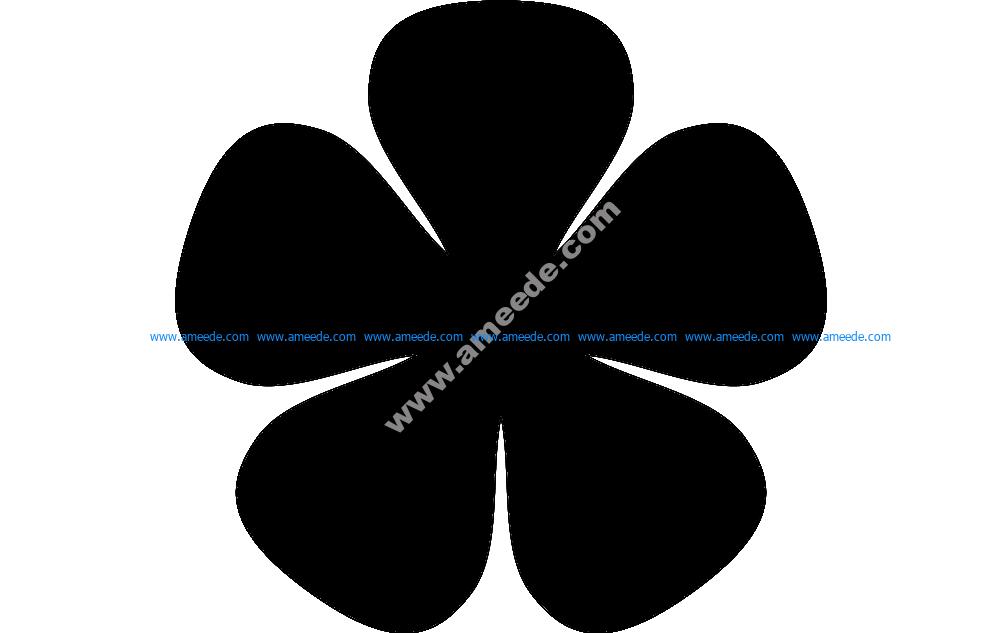 5petal Petit Flower