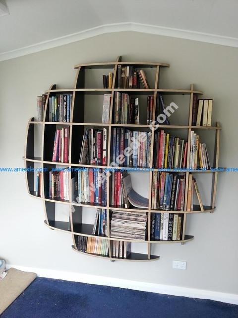Spherical Bookshelves