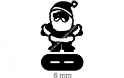 Santa Stand (6mm)