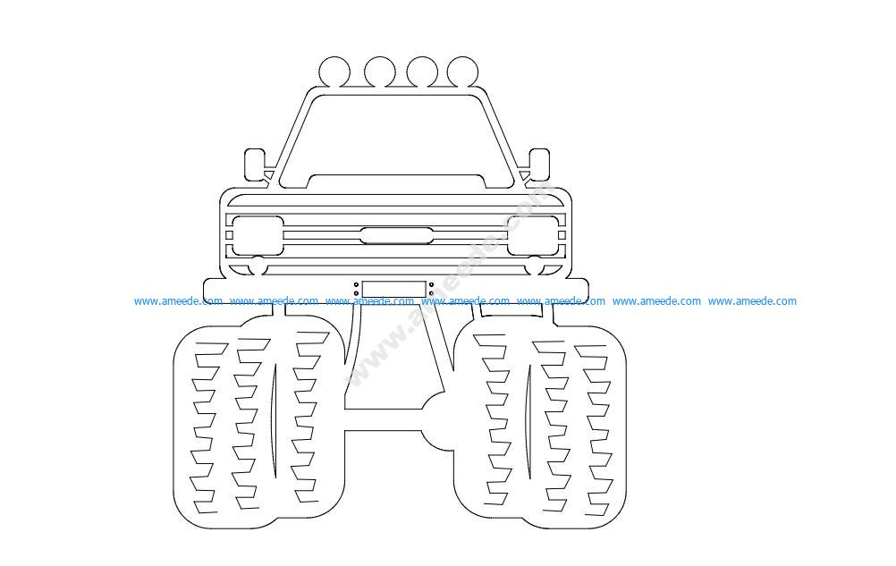 4 X 4 Front