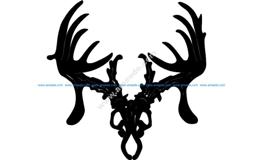 trophy hunter 12 inch Dxf Cut Path