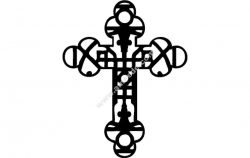 Decorative Christian Cross