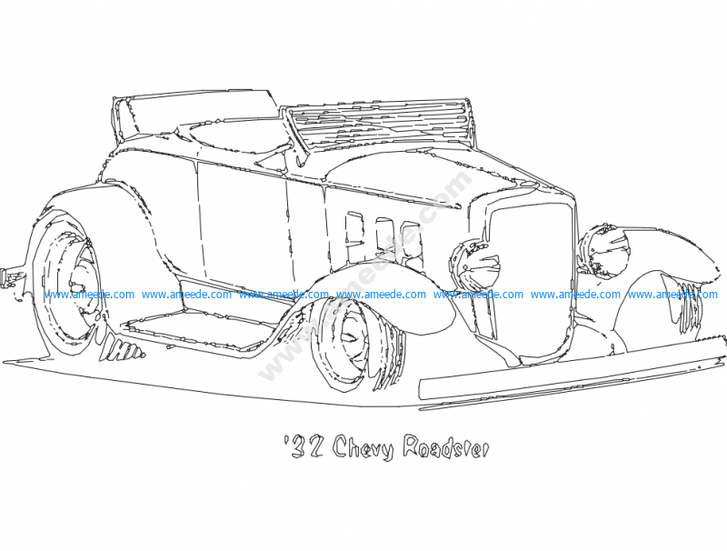 32 Chevy Roadster