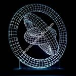 3D illusion Gyroscope Acrylic Leds Sign