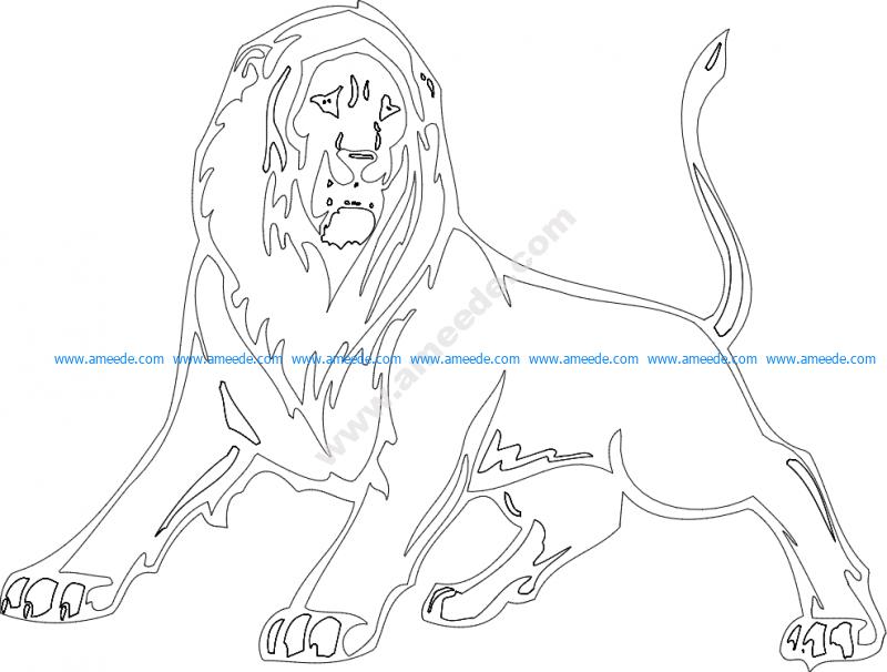 Animal Mascot Lion