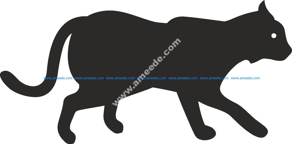 Animal Silhouette Vector