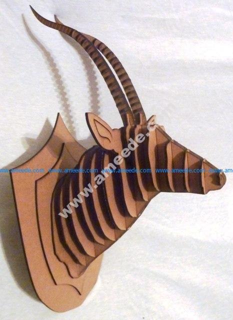 Antelope 3D Puzzle CNC Router Plan