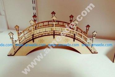 Arched Foot Bridge