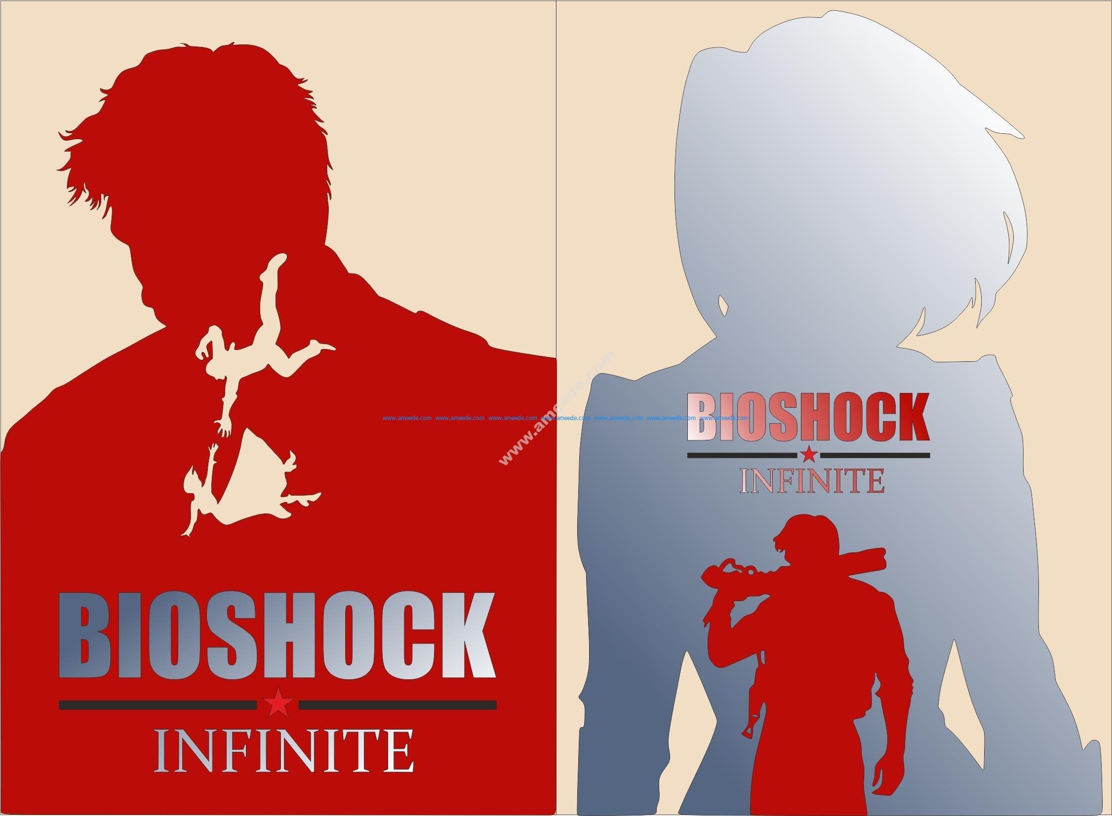 Bioshock Infinite Elizabeth Poster Vector