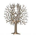 Birds Tree Jewelry Stand 3mm