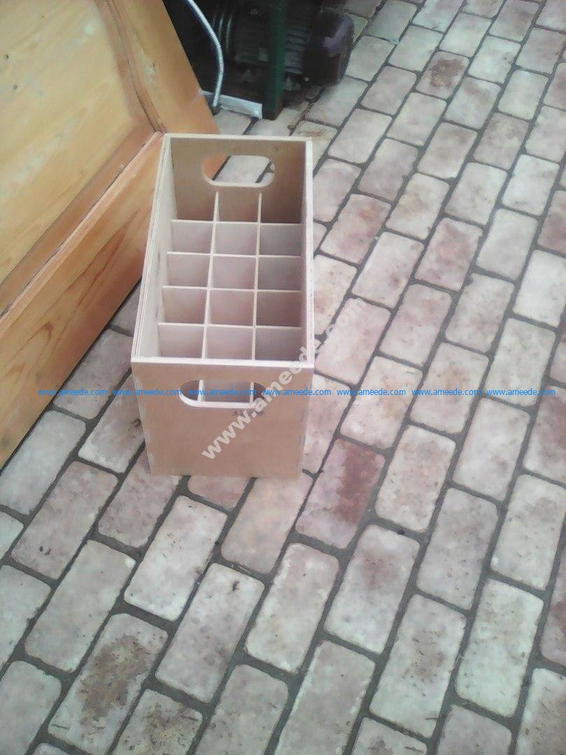 Box For 18 Pieces Of Bottles