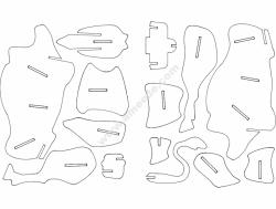 Bull 3D Puzzle