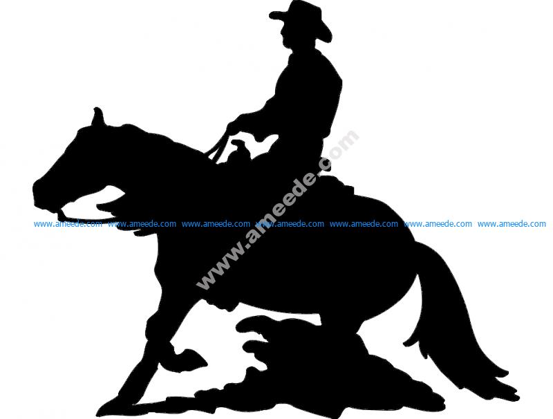 Cavalo E Calaleiro