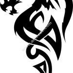 Celtic Dragon Tattoo Vector