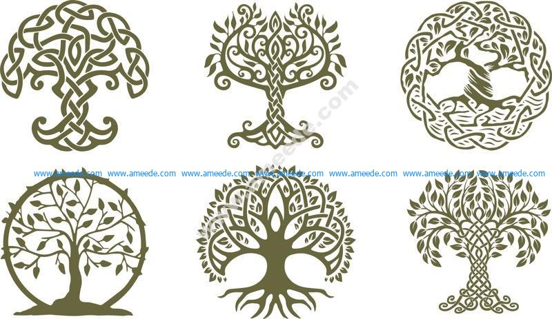 Celtic Trees