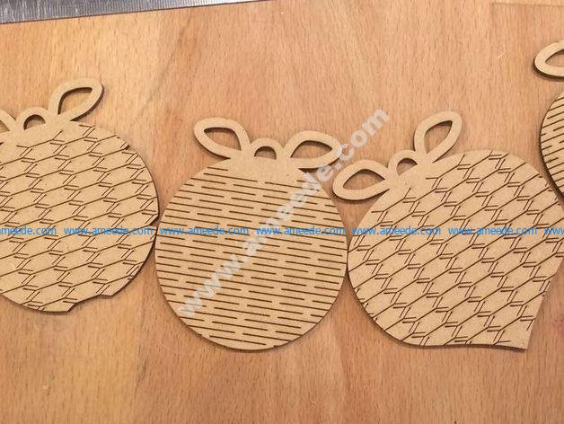 Christmas Ornament Laser Cutting Amee House