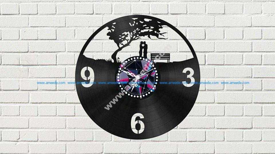 Clock With Couple