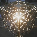 Cube 6mm Wood Lamp