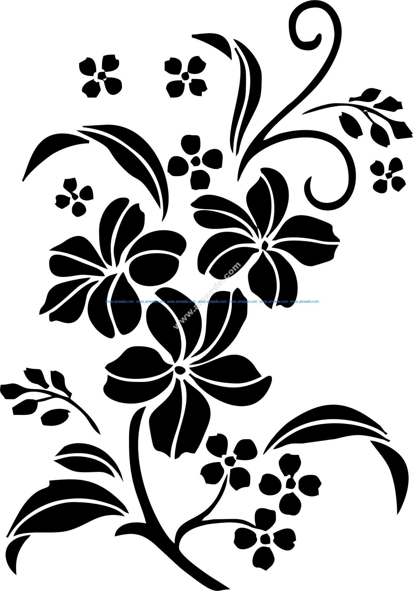 decorative floral ornament vector art jpg download free vector