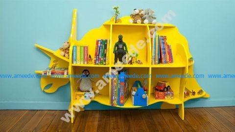 Dinosaur bookcase