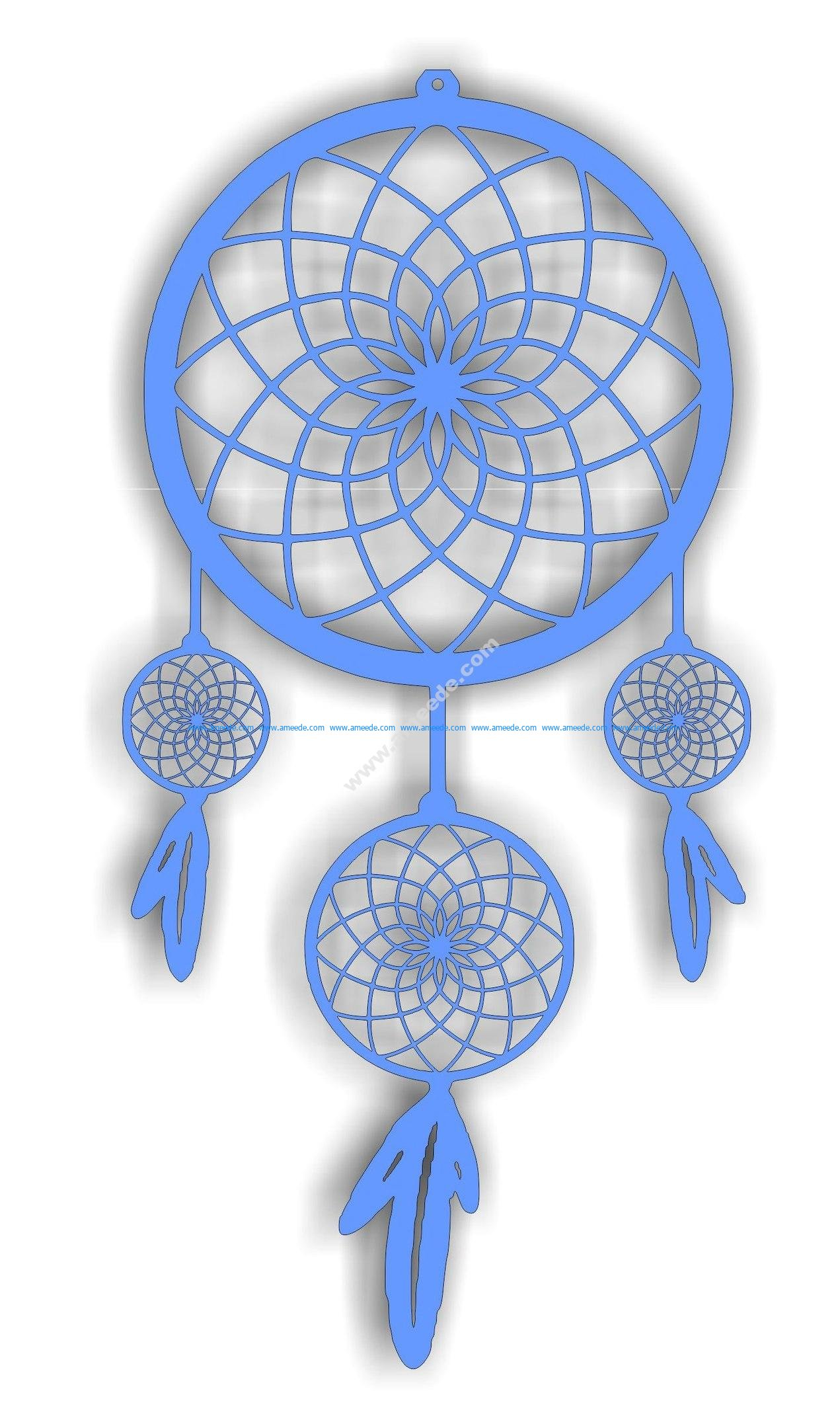 Dream Catcher Cdr File For Cutting