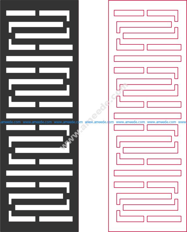 Dxf Pattern Designs 2d 150