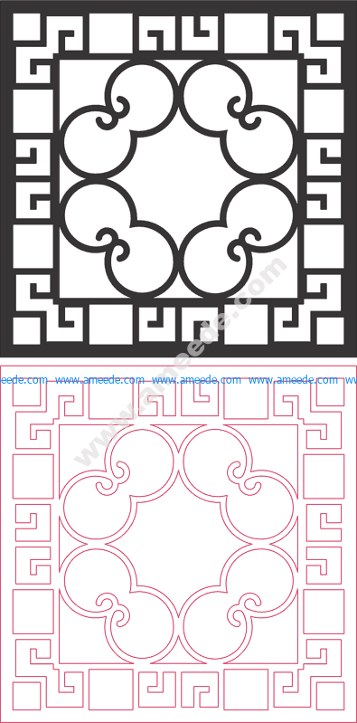 Dxf Pattern Designs 2d 156 – Amee House