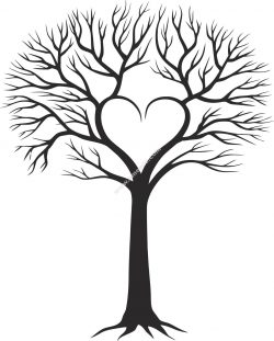 Family Tree With Heart
