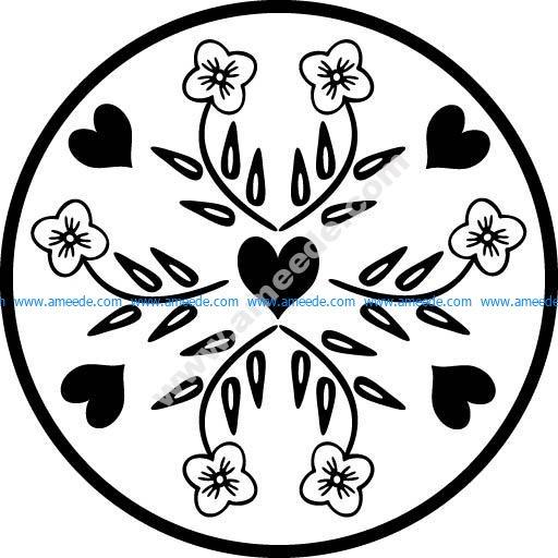 Floral Design 11 EPS